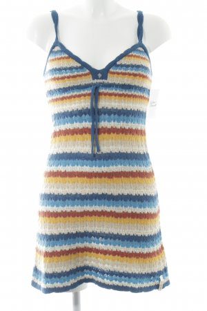 Killah Robe en maille tricotées Motif de tissage style Boho