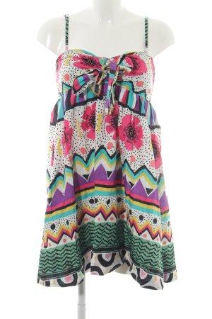 Killah Trägerkleid florales Muster extravaganter Stil