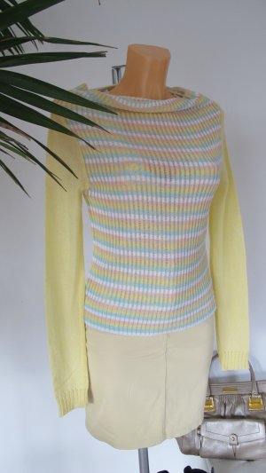 Killah Knitted Twin Set pale yellow