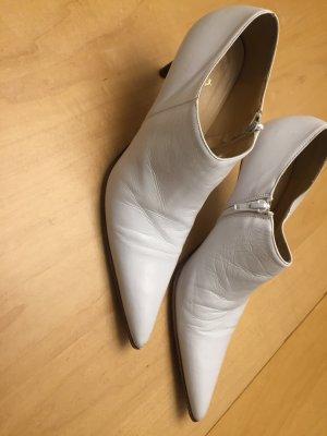 Killer heels Stiefeletten Booties ancle Boots in weiß 39 rock'n'roll