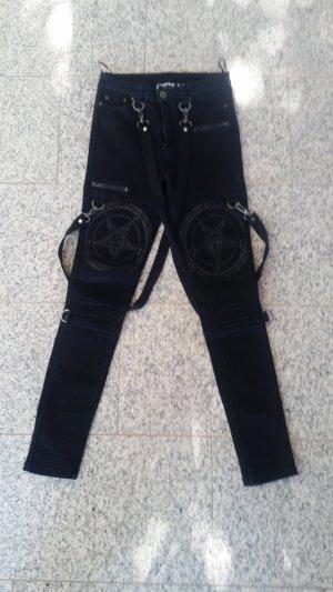 Killstar Grave Slave Skinnies Jeans Gothic Punk