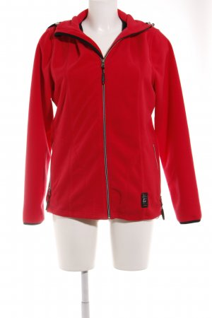 Killtec Chaqueta de forro polar rojo look casual