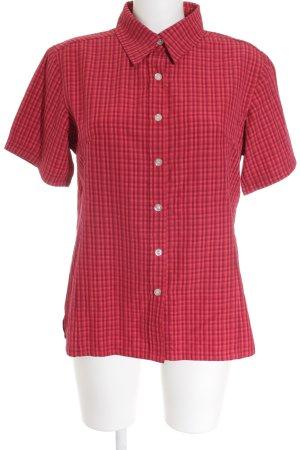 Killtec Chemise à manches courtes rouge brique-brun rouge style décontracté