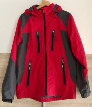 Killtec Outdoor jack grijs-rood