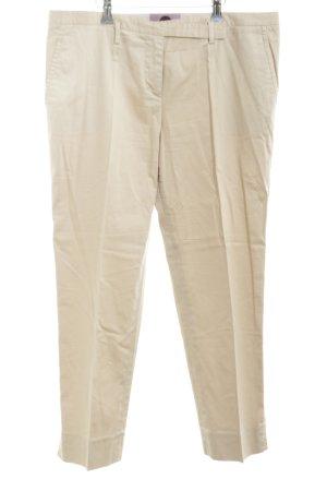 Kiltie Pantalone da abito bianco sporco stile casual