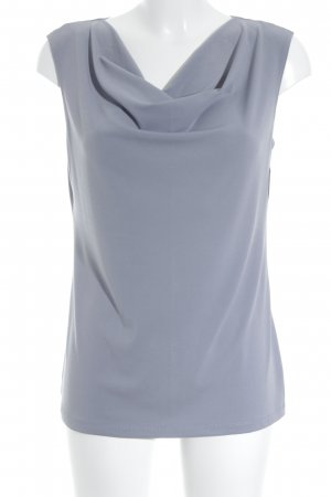 Kim & Co Sleeveless Blouse dark grey casual look