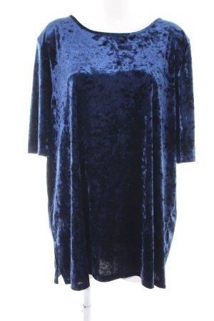 Kim & Co Kurzarmpullover blau Elegant