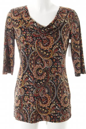 Kim & Co Longshirt abstraktes Muster Casual-Look
