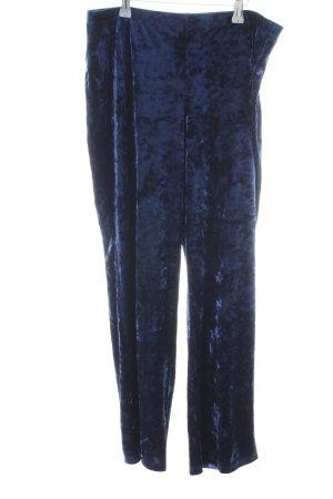 Kim & Co Stoffhose blau meliert Casual-Look