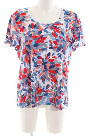 Kim & Co T-Shirt abstraktes Muster Casual-Look