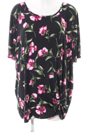 Kim & Co T-Shirt Blumenmuster Casual-Look