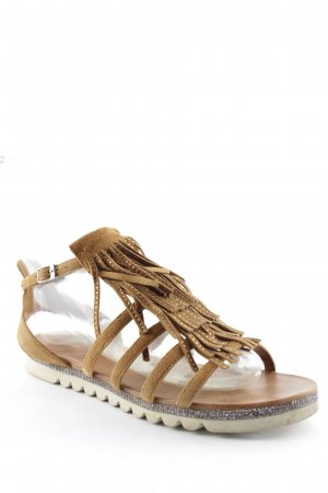 Kim Kay London Sandalo romano multicolore stile Gypsy