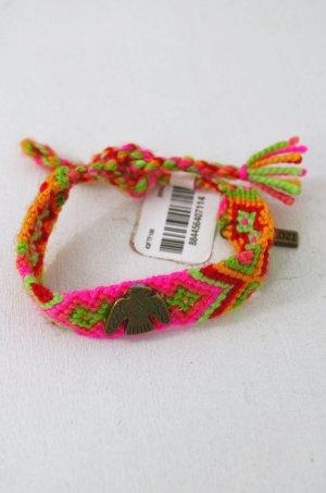 KIM & ZOZI Armband Hippie-Armband Geknüpft Pink Rot Grün Gelb Rosa Adler 0Size