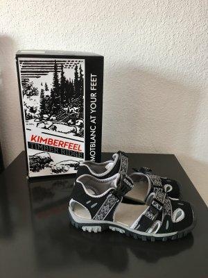 Sandalo outdoor nero-grigio chiaro