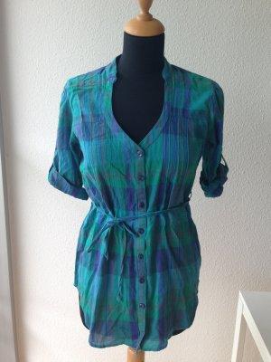 Kimchi Blue It-Label Jades Breuninger Karo Cotton Bluse Tunika lässig S XS 34 36