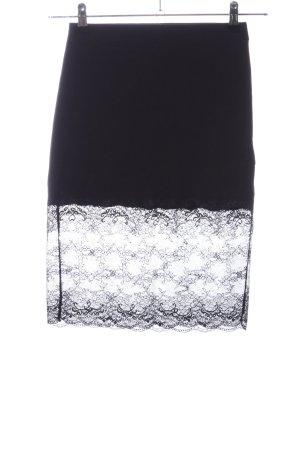 Kimchi Blue Kanten rok zwart elegant