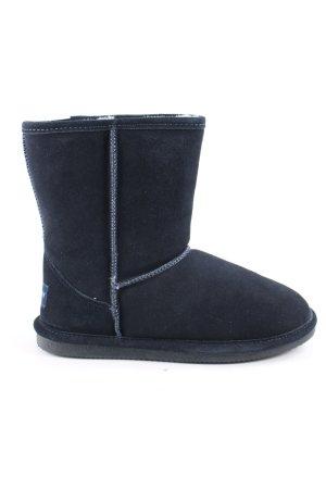 Kimkay Snow Boots blue casual look