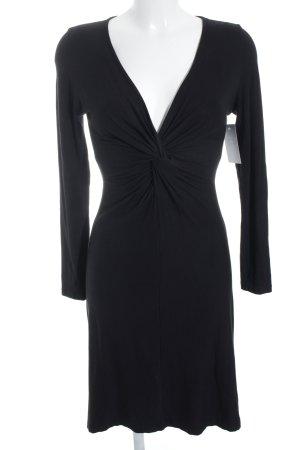 KImmich Trikot Jerseykleid schwarz schlichter Stil