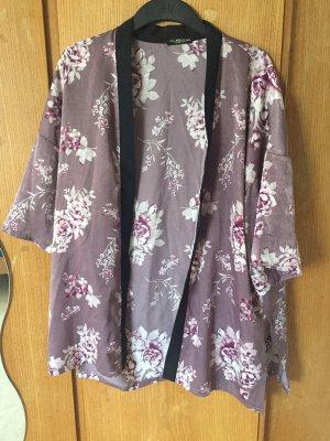 Colloseum Blusa tipo kimono malva