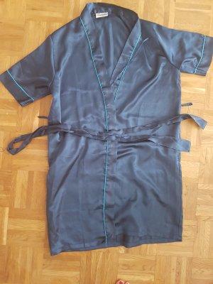 Kimono dark blue polyester