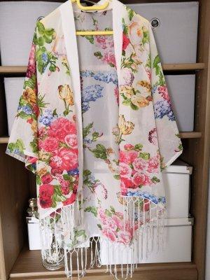 Amisu Chemisier kimono multicolore