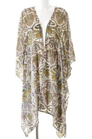 Canal + Bowery Kimono abstraktes Muster Boho-Look