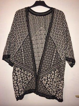 Zara Pull kimono multicolore coton