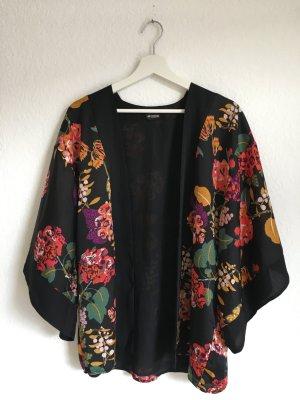 Kimono Blazer mit Blüten aus der Conscious Collection