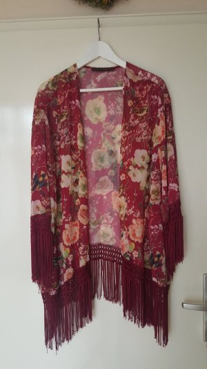 Kimono bordeaux