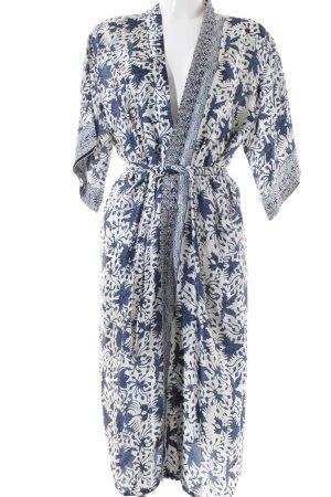 Kimono-Bluse abstraktes Muster Beach-Look