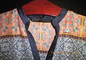 Kimono-Bluse, bunt
