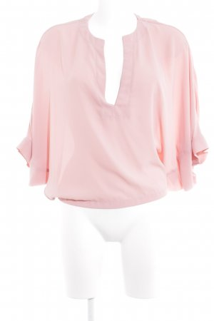 Kimono blouse roze zakelijke stijl