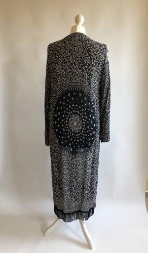 Mango Kimono Blouse black-white
