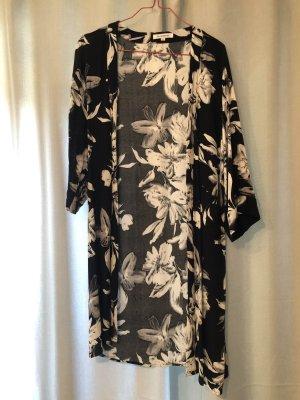 Glamorous Chemisier kimono noir-blanc