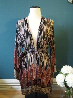 Indiska Kimono blouse veelkleurig Viscose