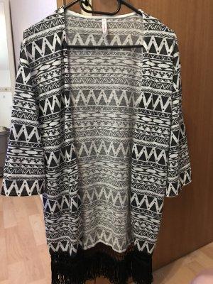 Kimono noir-blanc