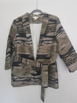 H&M Wraparound Jacket multicolored