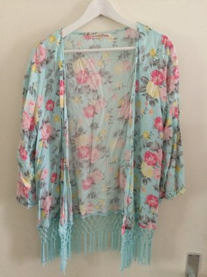 Kimono mit Blumenmuster von Tom Tailor