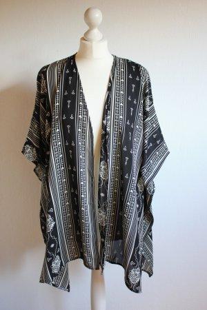 Kimono mit Ethnomuster Monki Aztek Onezise