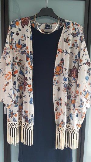 Kimono mit Fransen Boho S/M