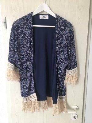 Kimono mit Fransen von Mango