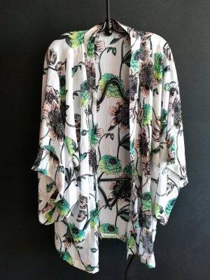 H&M Kimono wit Synthetische vezel