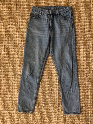 Monki Wortel jeans korenblauw-azuur