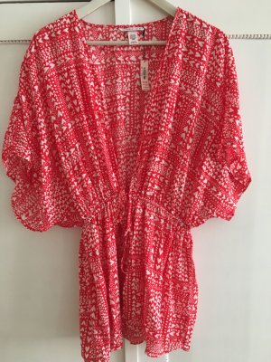Victoria's Secret Kimono multicolored viscose