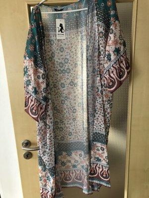 Blusa tipo kimono multicolor