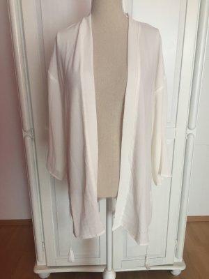Kimono neu creme beige nude mit Band Gurt Zipfel