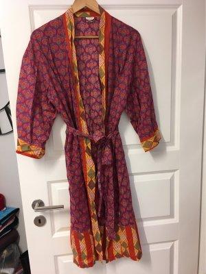 Kimono rouge-violet