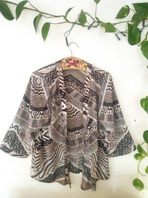 Kimono Only gemustert