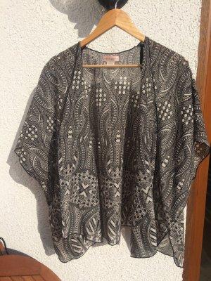 Kimono S/M Print Band of Gypsies Festival Boho