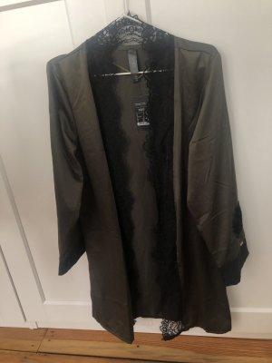 Hunkemöller Kimono groen-grijs